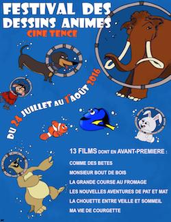 Festival dessins animés Tence